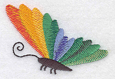 Embroidery Design: Butterfly I 2.51w X 1.77h