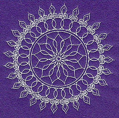 Embroidery Design: Rangoli design C small 4.97w X 4.98h
