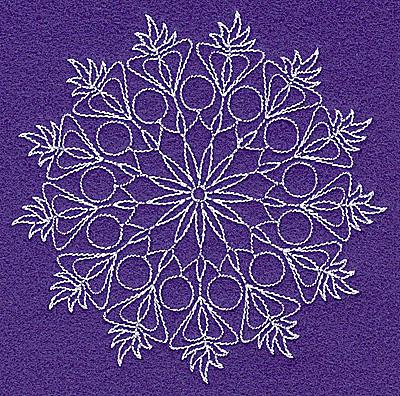Embroidery Design: Rangoli design H small 4.99w X 4.97h