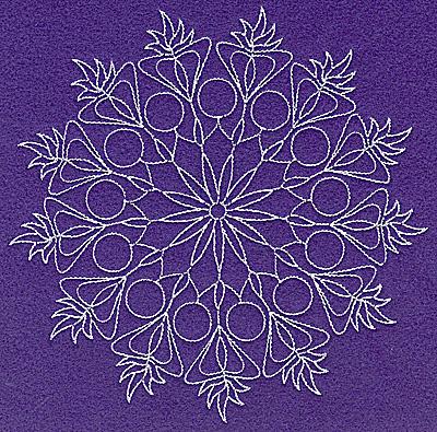 Embroidery Design: Rangoli desigh H large 6.98w X 6.96h