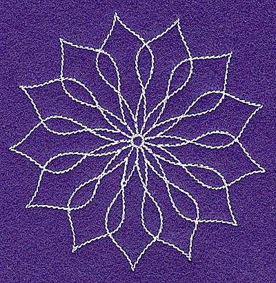 Embroidery Design: Rangoli design N 3.53w X 3.56h