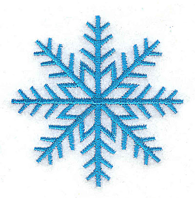 Embroidery Design: Snowflake 2.49w X 2.50h