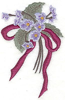 Embroidery Design: Floral Bouquet large 3.23w X 4.94h