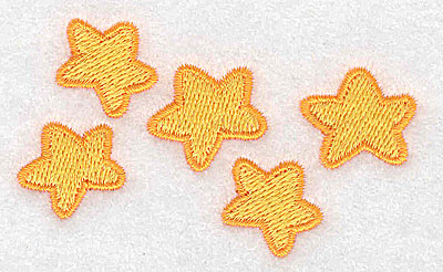 Embroidery Design: Stars 3.01w X 1.76h