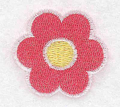 Embroidery Design: Flower 1.53w X 1.41h