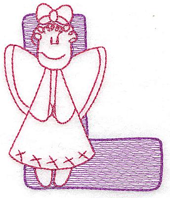Embroidery Design: L small 2.87w X 2.43h