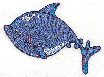 Embroidery Design: Shark large 4.97w X 3.68h