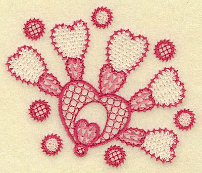 Embroidery Design: Hearts galore3.89w X 3.25h