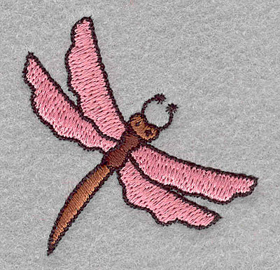 """Embroidery Design: Dragonfly small  2.01""""h x 1.97""""w"""
