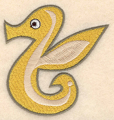 "Embroidery Design: Seahorse small 2.86""w X 3.00""h"