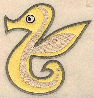 "Embroidery Design: Seahorse large applique 4.72""w X 4.97""h"