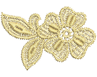 Embroidery Design: Lace from the Vault 1 Design 1 1.60w X 2.36h