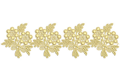 Embroidery Design: Lace from the Vault 2 Design 12 2.60w X 8.78h
