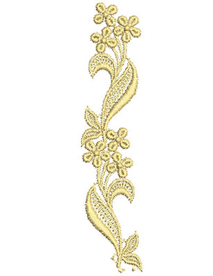 Embroidery Design: Lace from the Vault 4 Design 55.43w X 1.22h