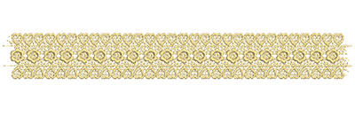 Embroidery Design: Lace from the Vault 12 Design 7 1.52w X 11.44h