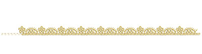 Embroidery Design: Lace from the Vault 13 Design 10 0.51w X 10.94h