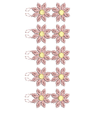 Embroidery Design: Lace from the Vault 14 Design 5 6.00w X 2.49h