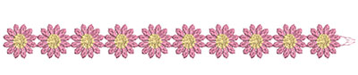 Embroidery Design: Lace from the Vault 14 Design 8 1.08w X 11.11h