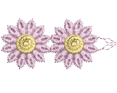 Embroidery Design: Lace from the Vault 15 Design 1 1.22w X 2.58h