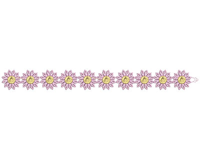 Embroidery Design: Lace from the Vault 15 Design 2 1.22w X 11.21h