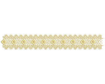 Embroidery Design: Lace from the Vault 15 Design 9 1.76w X 11.31h