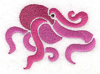 Embroidery Design: Octopus small 2.97w X 3.13h