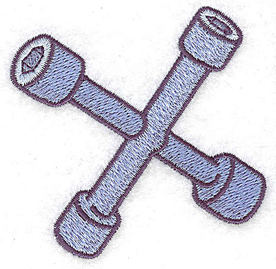Embroidery Design: Tire iron small 2.94w X 2.91h