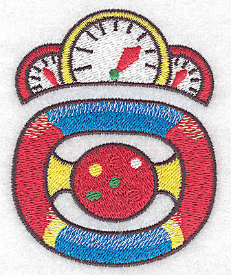 Embroidery Design: Racing car dashboard and steering wheel small 2.74w X 3.45h