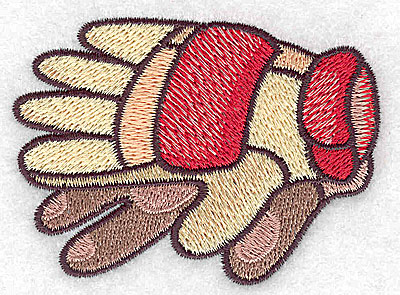 Embroidery Design: Racing gloves small 3.06w X 2.24h