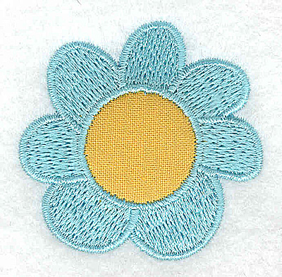 Embroidery Design: Flower 2 applique 2.01w X 1.96h