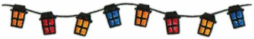 "Embroidery Design: Patio Lanterns8"" x 1.11"""