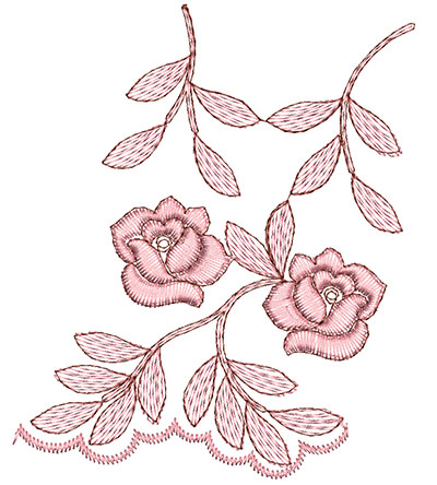 Embroidery Design: Heirloom From The Vault 1 Design 1 4.66w X 3.94h