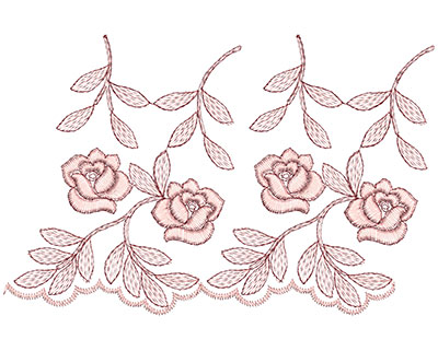 Embroidery Design: Heirloom From The Vault 1 Design 2 4.66w X 7.14h