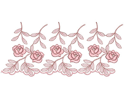 Embroidery Design: Heirloom From The Vault 1 Design 3 4.66w X 10.34h