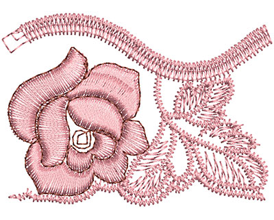 Embroidery Design: Heirloom From The Vault 1 Design 4 1.69w X 2.36h