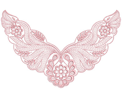 Embroidery Design: Heirloom From The Vault 1 Design 6 7.30w X 11.18h