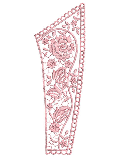 Embroidery Design: Heirloom From The Vault 1 Design 7 8.80w X 2.95h
