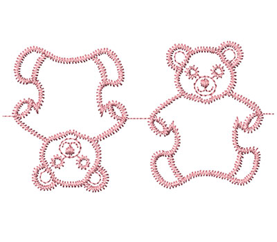 Embroidery Design: Heirloom From The Vault 1 Design 8 3.33w X 1.86h