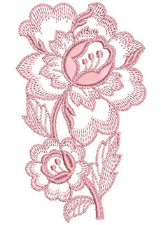 Embroidery Design: Heirloom From The Vault 2 Design 6 5.60w X 3.33h