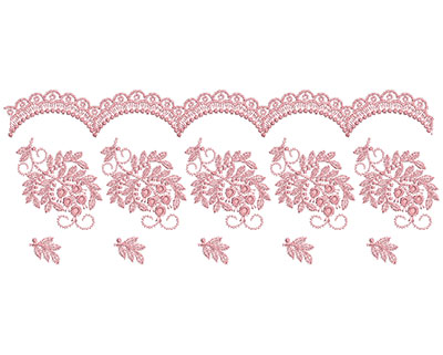 Embroidery Design: Heirloom From The Vault 3 Design 11 4.44w X 11.05h