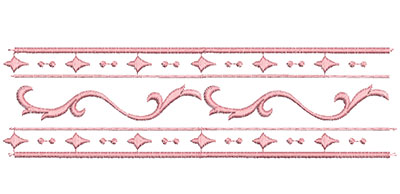 Embroidery Design: Heirloom From The Vault 4 Design 2 2.55w X 9.06h