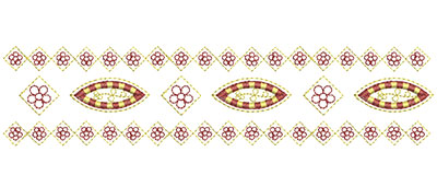 Embroidery Design: Heirloom From The Vault 4 Design 7 2.24w X 9.73h