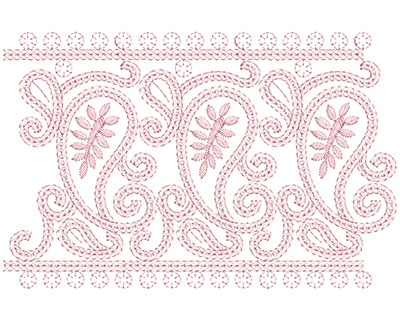 Embroidery Design: Heirloom From The Vault 4 Design 10 6.90w X 10.56h