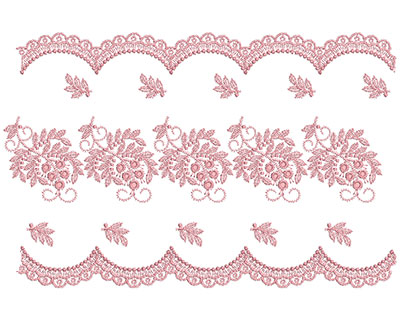 Embroidery Design: Heirloom From The Vault 5 Design 3 7.34w X 11.28h