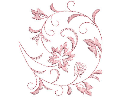 Embroidery Design: Heirloom From The Vault 5 Design 6 3.67w X 3.22h