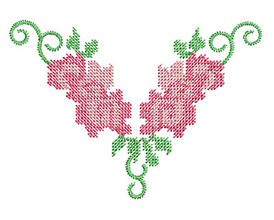 Embroidery Design: Heirloom From The Vault 5 Design 7 2.64w X 3.72h
