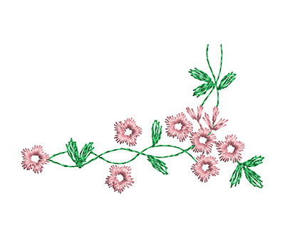Embroidery Design: Heirloom From The Vault 5 Design 11 1.95w X 3.16h