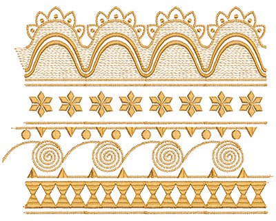 Embroidery Design: Heirloom From The Vault 6 Design 3 7.48w X 9.72h