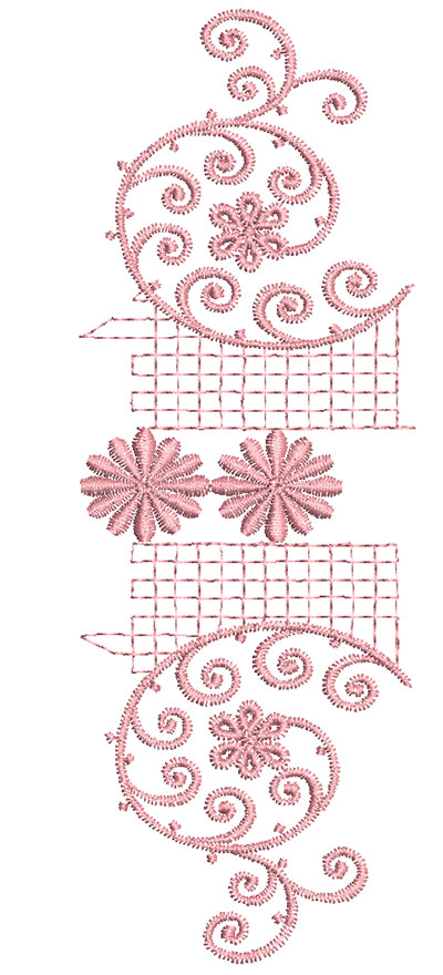Embroidery Design: Heirloom From The Vault 8 Design 5 7.72w X 2.71h