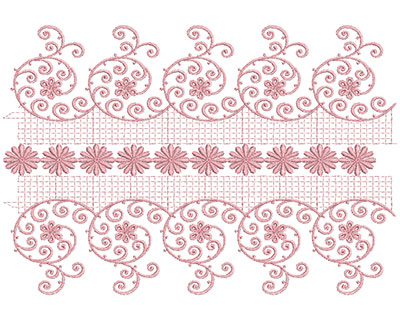 Embroidery Design: Heirloom From The Vault 8 Design 6 11.23w X 7.72h
